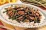 ginger-flavored-pork-asparagus
